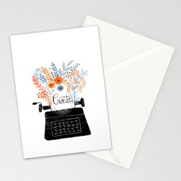 Create | Typewriter Stationery Cards