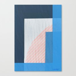 Abstract Geometric Space 2 Canvas Print