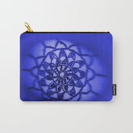 Oil on Rock -- deep blue Carry-All Pouch