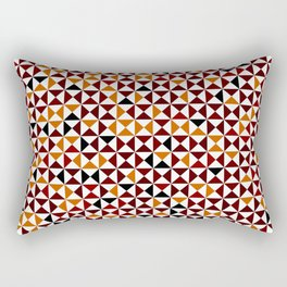 Lovely triangles Rectangular Pillow