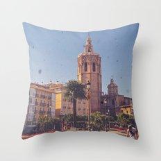 Valencian Colors Throw Pillow
