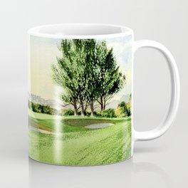 Carnoustie Golf Course Scotland 13th Green Coffee Mug