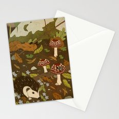 Woodland critters (sepia tone) Stationery Cards