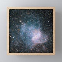 NGC 346 Framed Mini Art Print