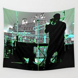 Big Sam (Trombone Man) Wall Tapestry
