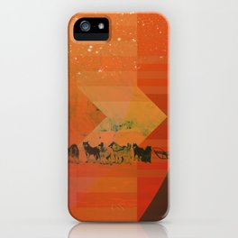 Feed The Right Dogs iPhone Case