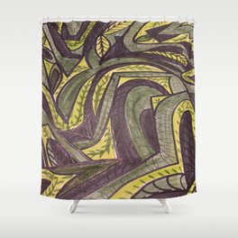 Not Your average Grapevine Shower Curtain