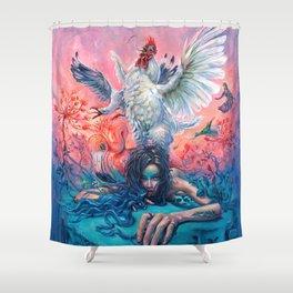 Symphony #4 AM Shower Curtain