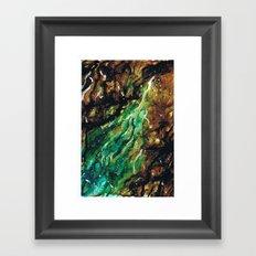 Emerald Vein  Framed Art Print
