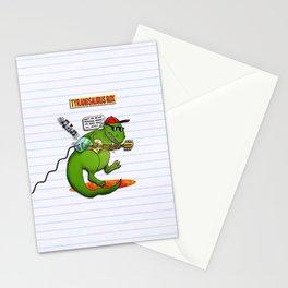 Jurassic Rock Stationery Cards