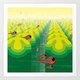 SF SolarBugs Art Print