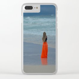 Shooting photo Clear iPhone Case
