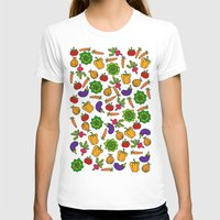 vegetables T-shirts featuring Vegetables by Alisa Galitsyna