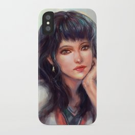Thinking of a song... iPhone Case