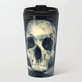 Old Skull - Memento Halloween Travel Mug