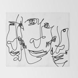 130911-2 Leroy Throw Blanket