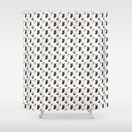 Hollow Knight Ending Pattern Shower Curtain