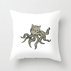 minima - octopuss Throw Pillow