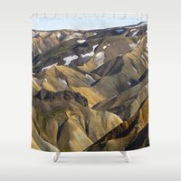 iceland Shower Curtains featuring ICELAND II by Gerard Puigmal