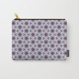 Flowers and Strass Carry-All Pouch
