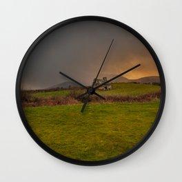 West Cork Caha Mountains Ireland Wall Clock