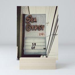 Sea Gypsy Inn Mini Art Print