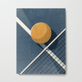 BALLS / Table Tennis Metal Print