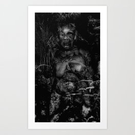 The Beaten Art Print