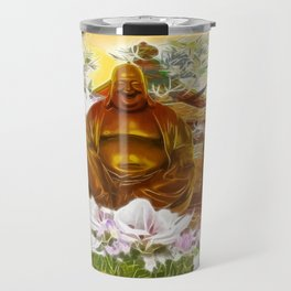 Happy buddha Travel Mug