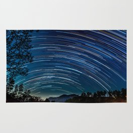 Star trail Rug