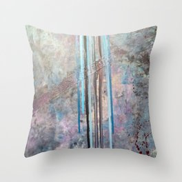 Free Falling Throw Pillow