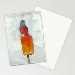 Orange Canary Popsicle Stationery Cards