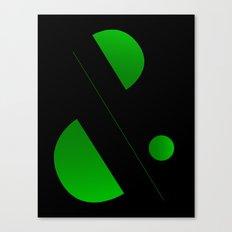 Ampersand Canvas Print