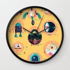 :::Mini Robots::: Wall Clock