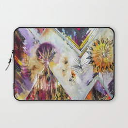 """Burn Bright"" Original Painting by Flora Bowley Laptop Sleeve"