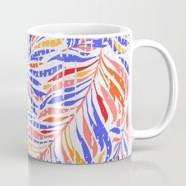 Textured Leaves Coffee Mug