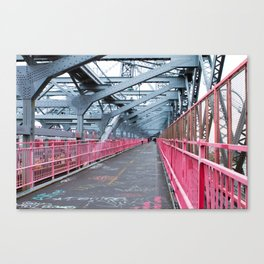 Across the Williamsburg Bridge Canvas Print