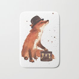 Downtown Fox Bath Mat