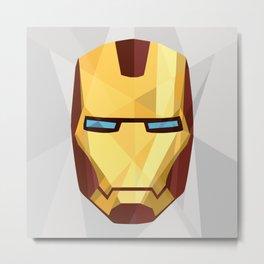 IronMan Fracture Metal Print