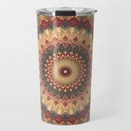 Earth Mandala 3 Travel Mug