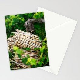 Grape vines Stationery Cards