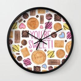 You're Sweet! Wall Clock
