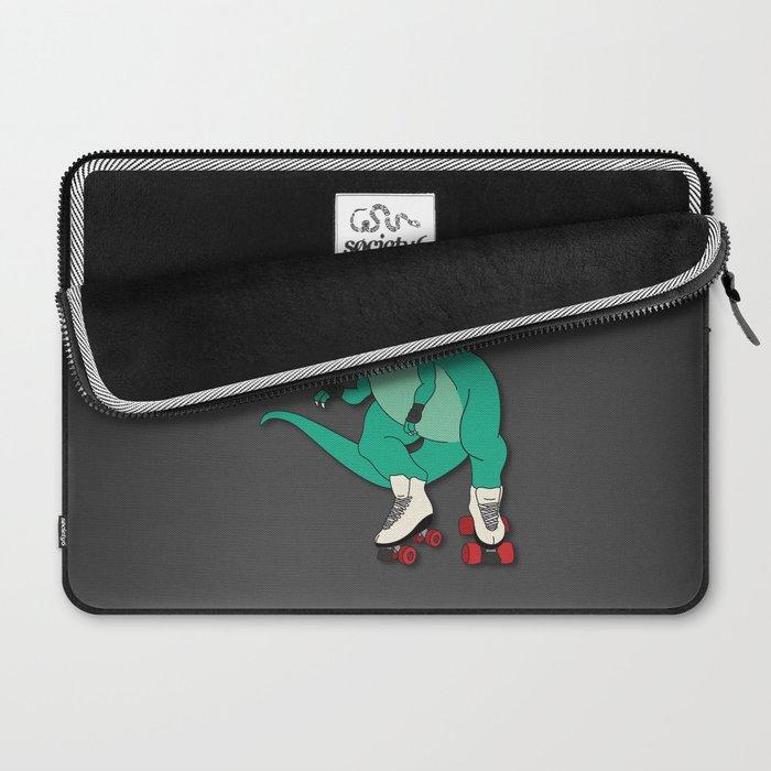 Tyrollersaurus Rex Laptop Sleeve