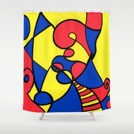 Print #12 Shower Curtain