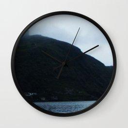 Long Range 6 (Signal Hill Fogs) Wall Clock