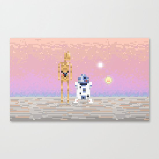 The Droids Canvas Print