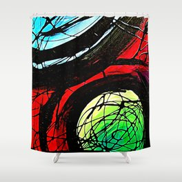 The Intersect Shower Curtain