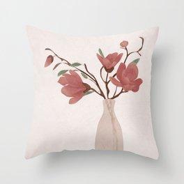 Vase Throw Pillow