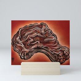 Psychedelic Ribeye Mini Art Print