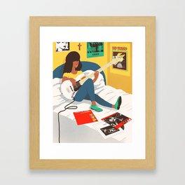 Practice Time 3 Framed Art Print